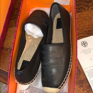 Tory Burch Espadrille Nappa Leather